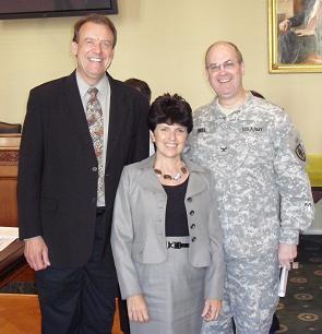 Dawson Church, Sandra Wiseman y Charles Engle